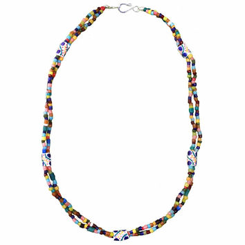 Festival Necklace Rainbow - Global Mamas