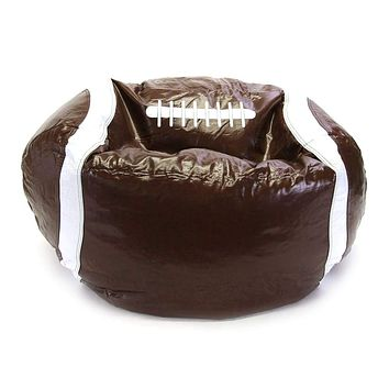 Sports Bean Bag, Football - Multicolored