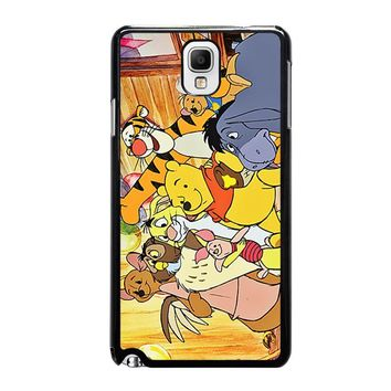 WINNIE THE POOH AND FRIENDS Disney Samsung Galaxy Note 3 Case Cover