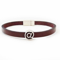 Men's leather bracelet Simple bracelet Mens Jewelry @ Men's Classic Jewelry Minimal bracelet Brown leather bracelet Gift for Him & for her