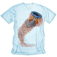 Jellyfish T-shirt Haeckel Graphic Tee