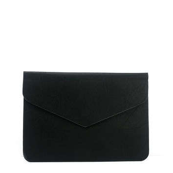 Ashe Envelope Clutch - Black