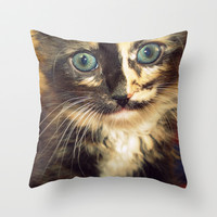 Precious Throw Pillow by Magic Emilia