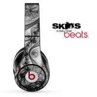 Abstract Black And White Swirls Skin for the Beats by Dre Studio, Solo, MIXR, Pro or Wireless Version Headphones