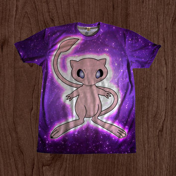 Pokemon Mew Shirt unisex Youth & Adult size tshirts USA Handmade *Fast Shipping*