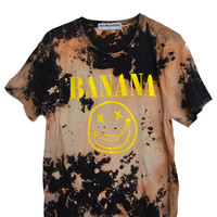 DISTRESSED BANANA TEE | HIGH HEELS SUICIDE