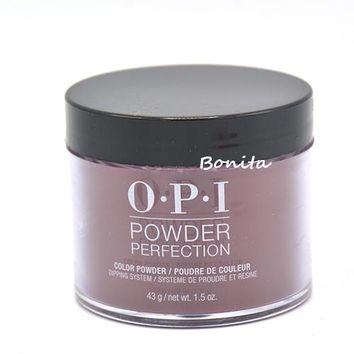 OPI Powder Perfection Dip Powder DPI43 Black Cherry Chutney 1.5 oz