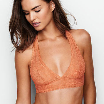 Lace Halter Bralette - The Victoria's Secret Bralette Collection - Victoria's Secret