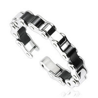 Diesel - Motorcycle Chain Design Industrial Styled Bracelet Perfect For Wild and Adventurous!