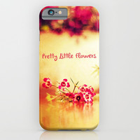 PRETTY LITTLE FLOWERS - for iphone iPhone & iPod Case by Simone Morana Cyla