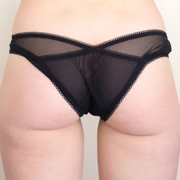 0b57e03e1f Black Sweet Heart Panties - Sweet Tooth Lingerie