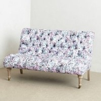 Abstract Print Orianna Settee by Anthropologie Multi One Size Furniture