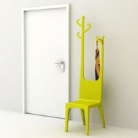 Reindeer Coat Hanger & Chair
