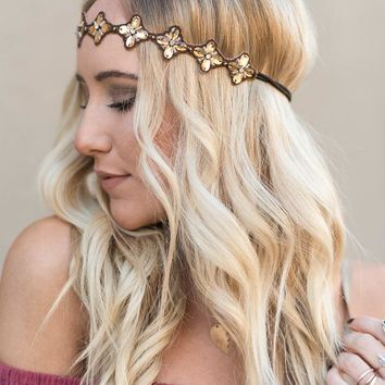 Sunshine Floral Head Piece