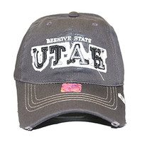Loyal Cloth Beehive State Utah Plain Cap