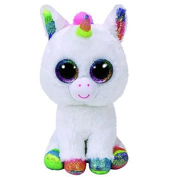 Ty Beanie Boos Original Big Eyes Plush Toy Doll Child Brithday 10 - 15cm Unicorn TY Baby For Kids Gifts