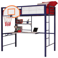 Slam Dunk Twin Size Loft Bed