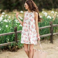 Aria Floral Sleeveless Dress