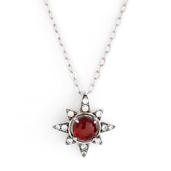 Nadri Holiday Star Pendant Necklace | Nordstrom