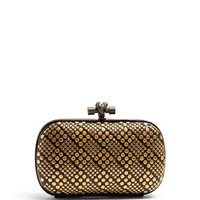 Knot studded snakeskin clutch | Bottega Veneta | MATCHESFASHION.COM US
