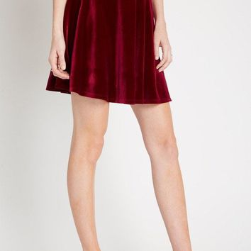 Essential Velvet Circle Skirt