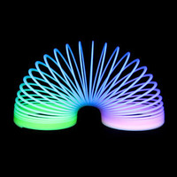 Glow In The Dark Rainbow Stairwalker (Dozen): Rebecca's Novelty Importer