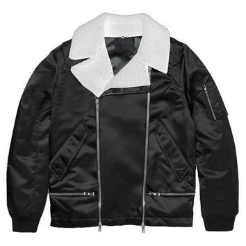 Black Wraith Aviator Jacket - Beauty Ticks