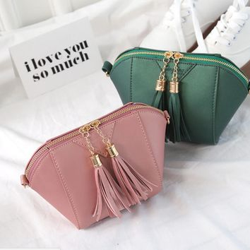 Fringe Crossbody Bag Clutch Bag Messenger Shoulder Handbags  Tassel Bags
