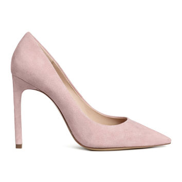 Court shoes - Powder pink - Ladies | H&M GB