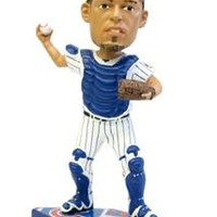 Chicago Cubs Geovany Soto Forever Collectibles Plate Base Bobble Head