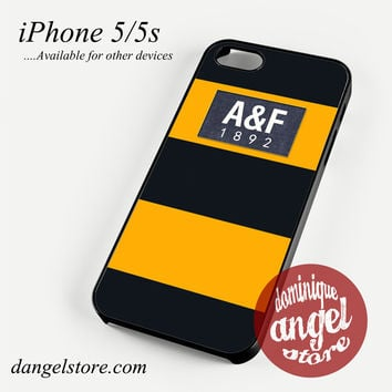 yellow abercrombie and fitch Phone case for iPhone 4/4s/5/5c/5s/6/6 plus