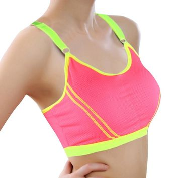 Women Sexy Bra 2017 New Hot Lady Sports Bras Seamless Breathable Push Up Bras Leisure Promotions High Quality