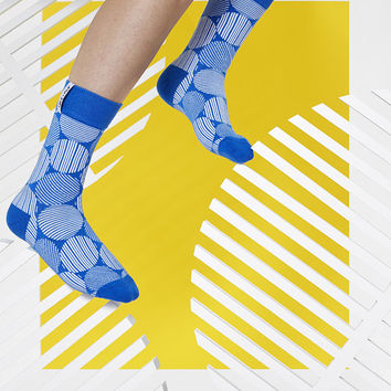 LØVE + FUN Socks First Season - Roundy Series Blue