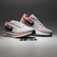 """""""Nike Zoom"""" Women Sport Casual Multicolor Flywire Sneakers Light Running Shoes"""