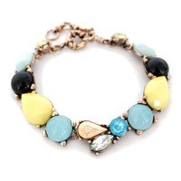 Hot Sale Shiny New Arrival Gift Awesome Stylish Great Deal Accessory Alloy Gemstone Bracelet [6586375175]