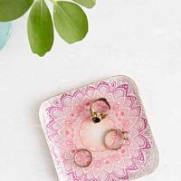 Magical Thinking Medallion Trinket Dish- Pink One