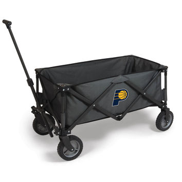 Indiana Pacers - 'Adventure Wagon' Folding Utility Wagon by Picnic Time (Dark Grey)