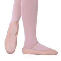 So Danca SD55 Adult Full Sole Leather Ballet Shoe -No Drawstrings