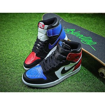 Air Jordan 1 OG Retro High Top 3 555088-026 AJ1 Basketball Shoes - Sale