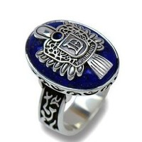 Vampire Diaries Damon's Daylight Walking Signet Ring Silver Plated
