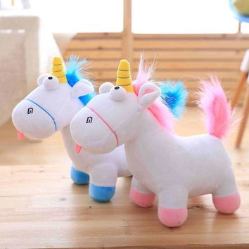 35cm kawaii Plush Unicorn Horse Dolls Licorne Unicornio Soft Animals Anime Stuffed Toys for Kids Birthday Valentines Day Gift