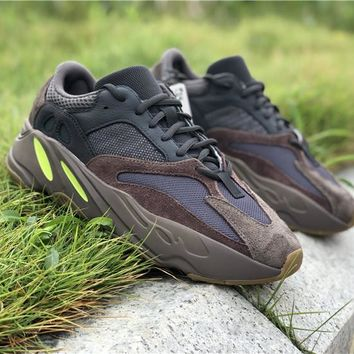 "Free Shipping  Adidas Yeezy Boost 700 ""Mauve"" Basketball Sneak 09aa6027e4"