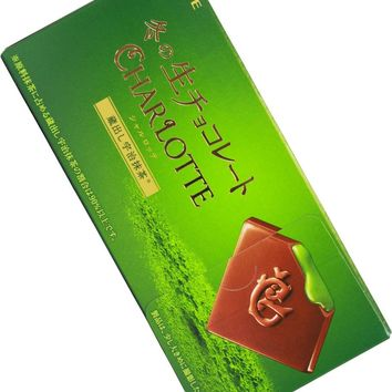 Lotte Charlotte Enriched Green Tea Chocolate