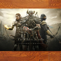 """The Elder Scrolls online  Game poster   home decor  posters prints 17 * 30"""""""