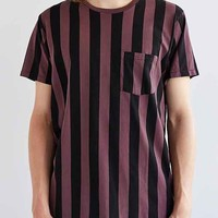 SkarGorn 31 Stripe Oversized Tee- Black