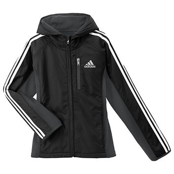 adidas Polar Fleece Hooded Jacket