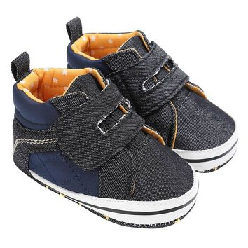 Kids Shoes for Girls Boys Sneakers Jeans Canvas Children Shoes Denim Flat Boots Baby S