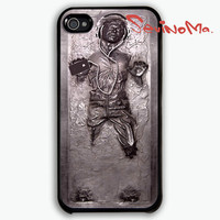 Han Solo Carbonite - Star Wars Parody -  iphone 4 case, iphone 4s case, iphone hard case