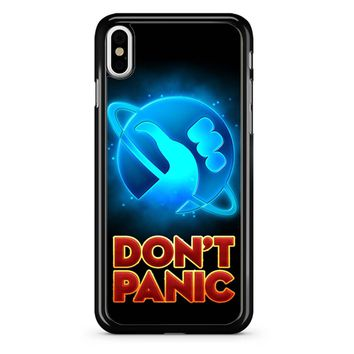 Hitchhiker Guide To The Galaxy iPhone X Case