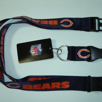 NFL Chicago Bears Navy Breakaway Lanyard NFL